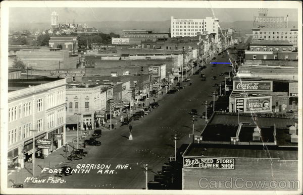 Aerial View - Garrison Ave. Fort Smith, AR