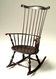 Comb Back Rocking Chair by Peter