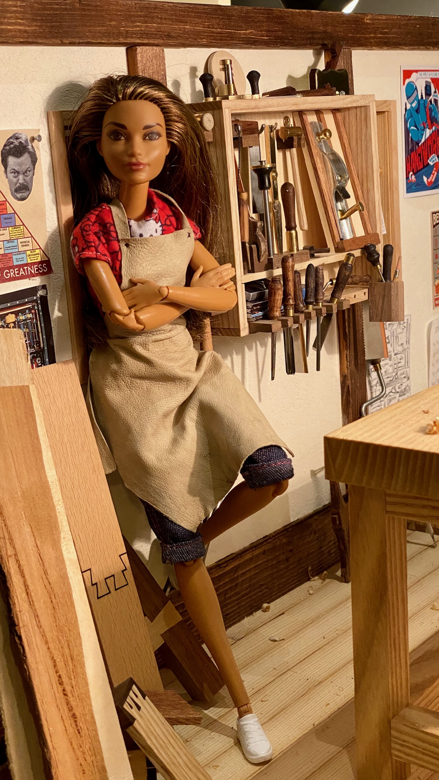 An Interview with Barbie of Barbie Woodshop