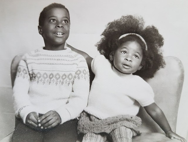 My brother Maurice and I - 1969