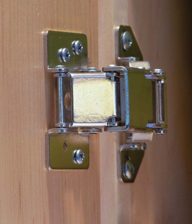 surface mount concealed hinge