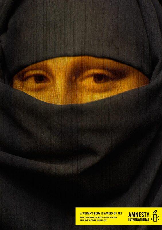 Amnesty Monna Lisa
