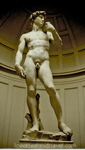Italy - Statue of David in Florence