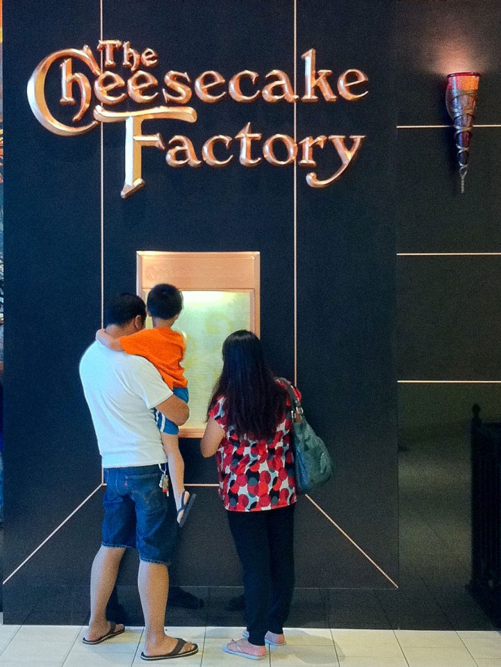 Cheesecake Factory in Hillsdale Shopping Mall San Mateo, CA