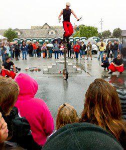 Sardine Family Circus at Half Moon Bay's World Championship Pumpkin Weigh Off
