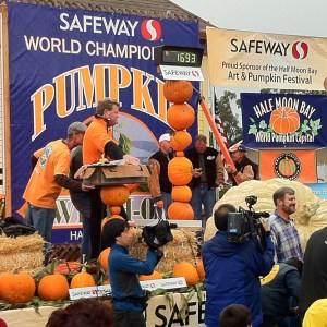 Half Moon Bay's World Championship Pumpkin Weigh-Off
