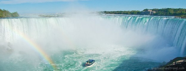 Niagara Falls - view from Canadian side