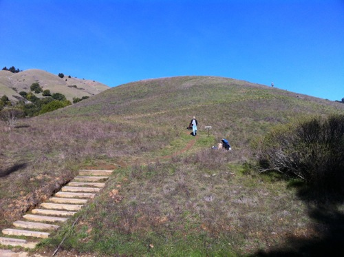 Spirit Rock Meditation Center - hiking the hillside - © LoveToEatAndTravel.com