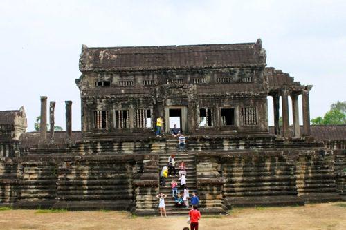 Angkor Wat ancient temples, Angkor, Cambodia - © B. Miller