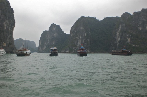 Halong Bay, Vietnam - one of Vietnam's most spectacular natural wonders - © B. Miller