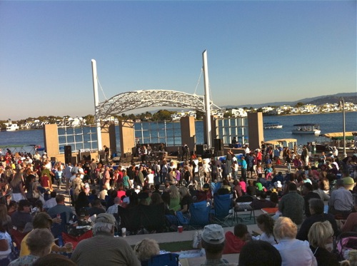Free Summer Waterfront Concerts at Foster City Amphitheater, Foster City, CA