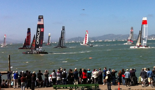 America's Cup World Series 2012, San Francisco, CA – © LoveToEatAndTravel.com