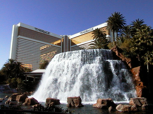 The Mirage Las Vegas - Mirage Volcano © LoveToEatAndTravel.com