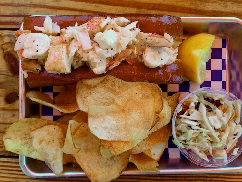 New England Lobster Market and Eatery Restaurant in Burlingame California - Lobster Roll