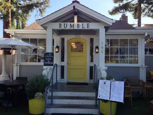 Bumble restaurant in Los Altos, CA © LoveToEatAndTravel.com