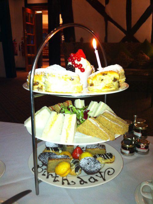 Tea at the Barn Hotel, Ruislip – © LoveToEatAndTravel.com