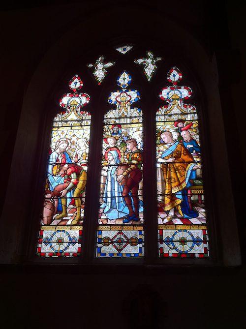 Stained Glass windows at St. Martin's Church in Ruislip – © LoveToEatAndTravel.com