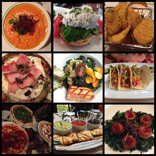 Delicious foods of Calistoga restaurants – © LoveToEatAndTravel.com