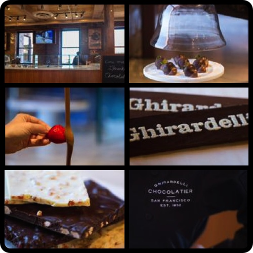 Ghirardelli Chocolatier and Chocolates