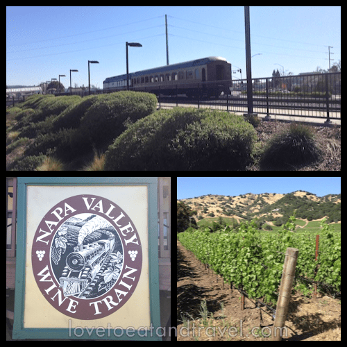 Napa Valley Wine Train - lunch and dinner excursions © LoveToEatAndTravel.com
