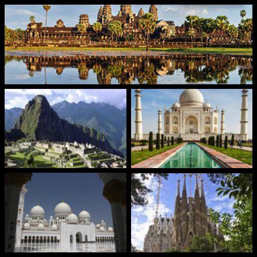 TripAdvisor's Travelers' Choice Awards – Top 5 World Wonder Landmarks – Photo credit: Viator