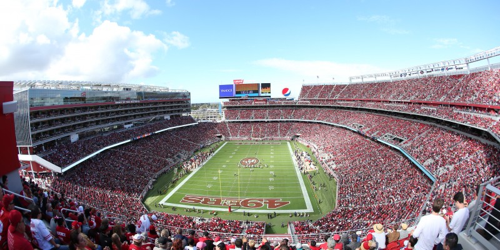 Levi's Stadium, Santa Clara - home to Super Bowl 50 - San Francisco Bay Area - Image Source: Levi's Stadium Press