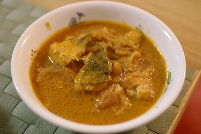 Meen Murringakka Curry (Fish Curry) - Photo by Pelican