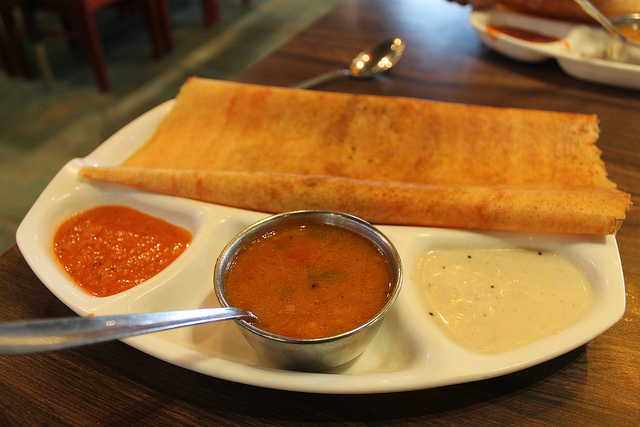 Mysore Masala Dosa - Photo by Connie Ma