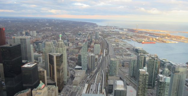 CN Tower view of Toronto - Photo Credit: Deborah Grossman