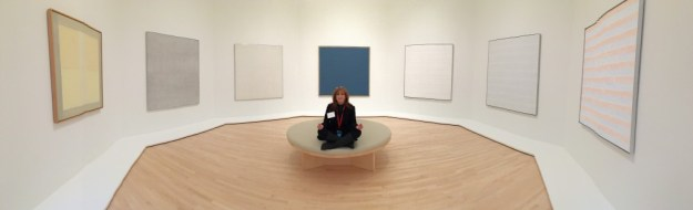 "Agnes Martin Gallery ""Meditation Room"" at SFMOMA - photo © Love to Eat and Travel"