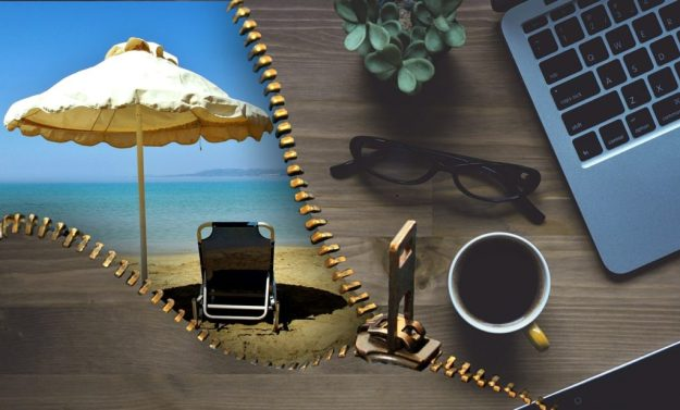 Working Vacation Photo credit: Pixabay