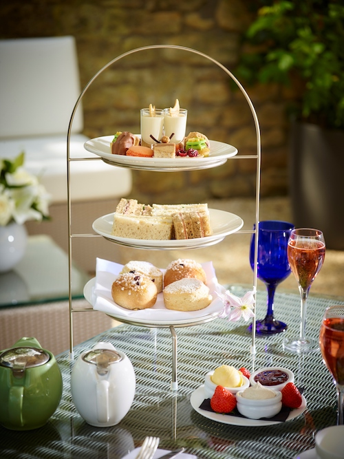 Champagne and Afternoon Tea © The Royal Crescent Hotel & Spa