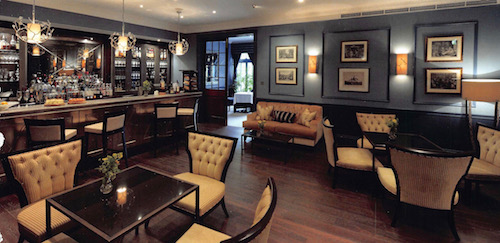 Montagu Bar & Champagne Lounge at The Royal Crescent Hotel & Spa in Bath, UK - photo © The Royal Crescent Hotel & Spa