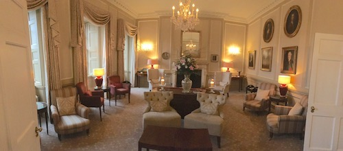 The Drawing Room at The Royal Crescent Hotel & Spa, Bath, UK - photo © Love to Eat and Travel