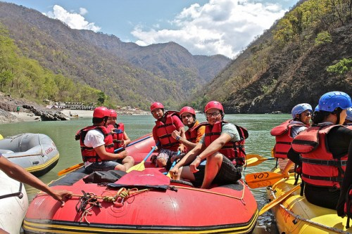 Rishikesh river rafting - photo by Siddharth Nagi