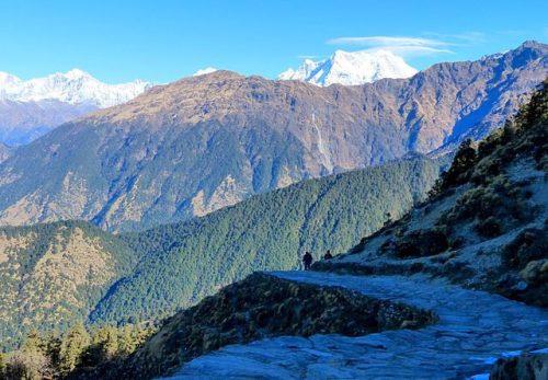 Tungnath trek in Rishikesh - photo by Paul Hamilton