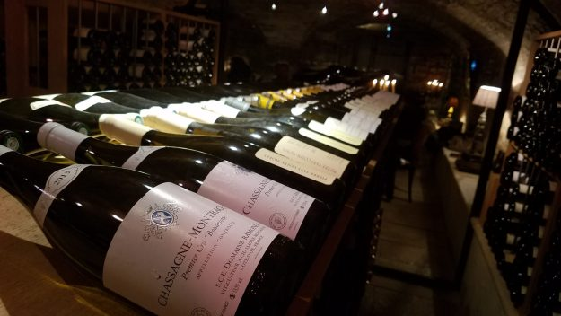21 Boulevard restaurant wine cellar - Photo Credit: Deborah Grossman