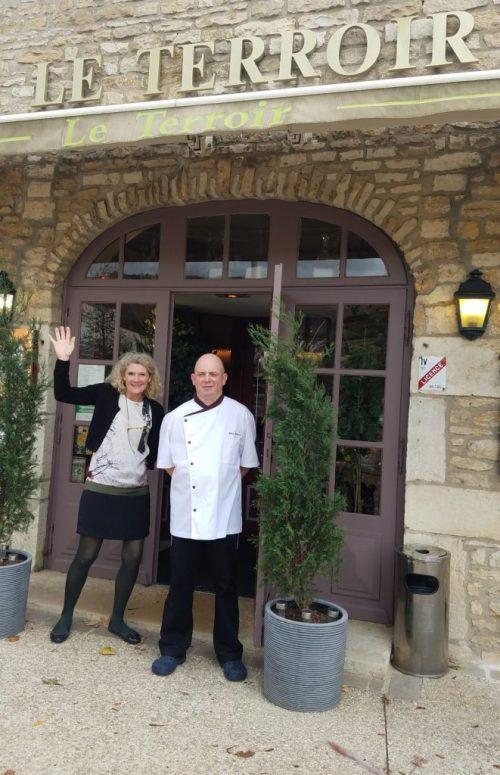 Le Terroir owners Corinne and Fabrice Germain - Photo Credit: Deborah Grossman