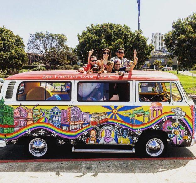 PEACE - © San Francisco Love Tours