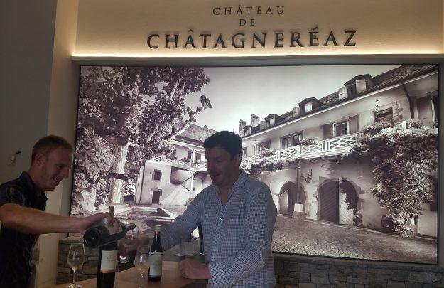 Lausanne area - Chateau de Chatagnereaz historic winery tasting - Credit: Deborah Grossman