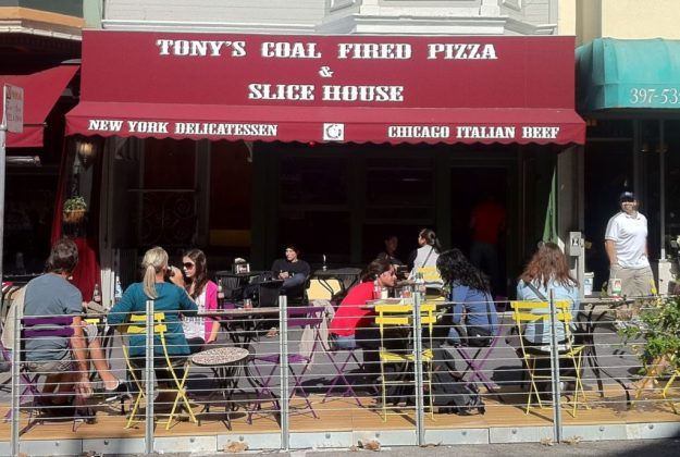 Tony's Pizza in North Beach, SF - photo © LoveToEatAndTravel.com
