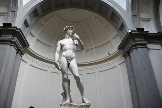 Statue of David in Florence, Italy