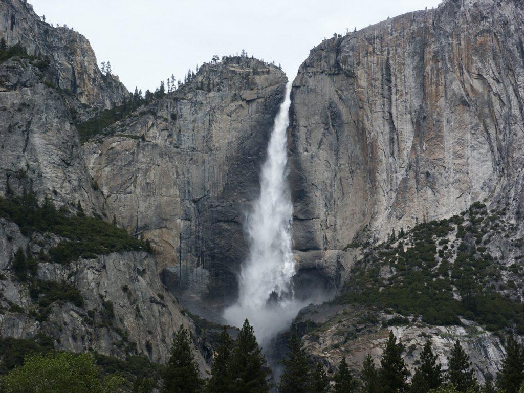 Bridalveil Falls, Yosemite, CA