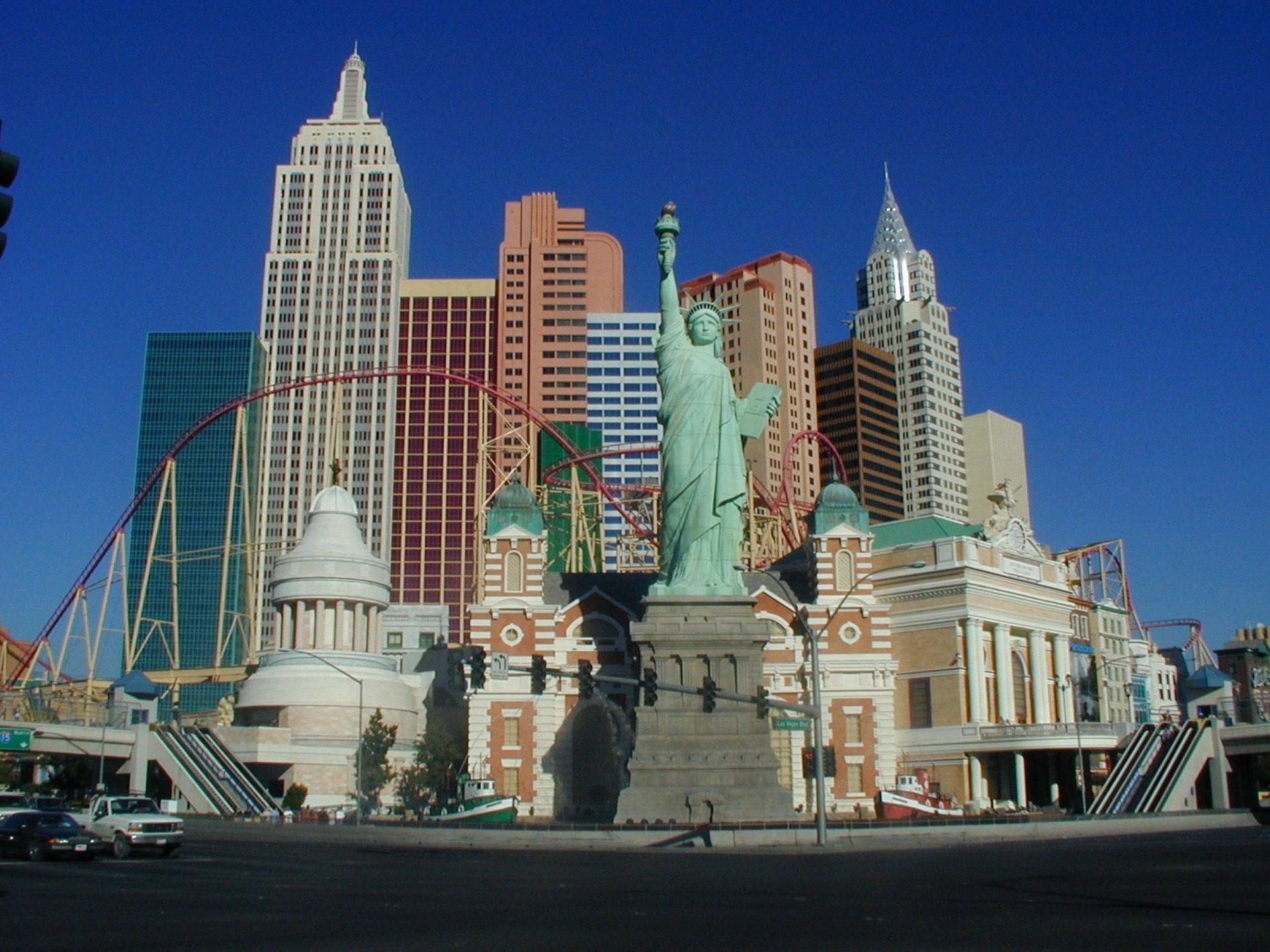 Roller Coaster at New York-New York, Las Vegas