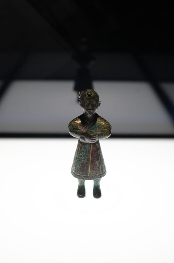 Tiny Chinese figurine