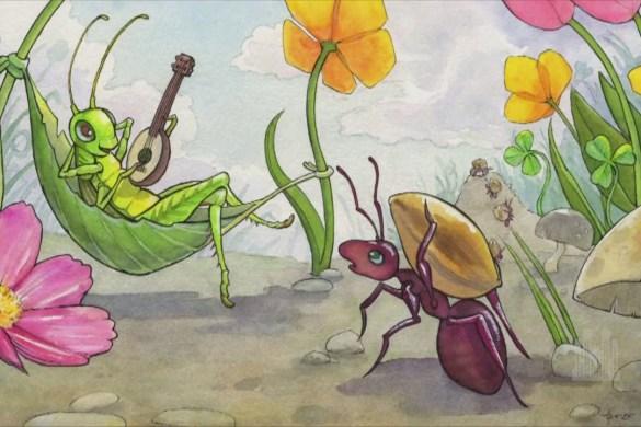 la cicala e la formica