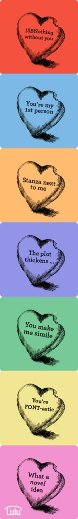Valentines Day Literary Hearts