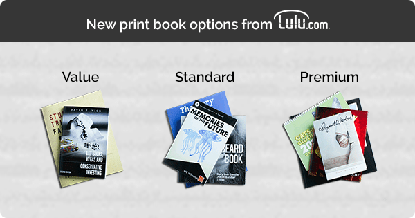 Print-on-demand options
