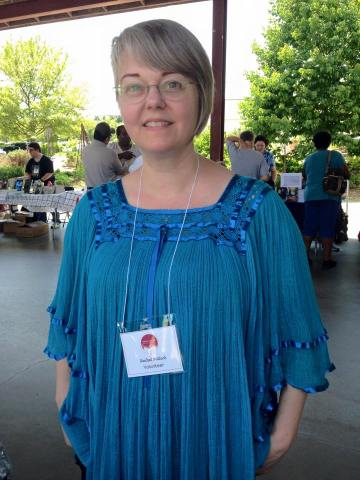 Lulu author Rachel Pollock at the Read Local Book Festival