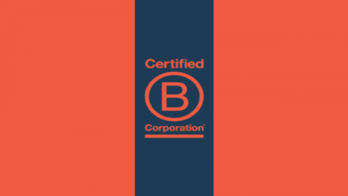 Certified B Corp Logo for Lulu Blog Header Graphic